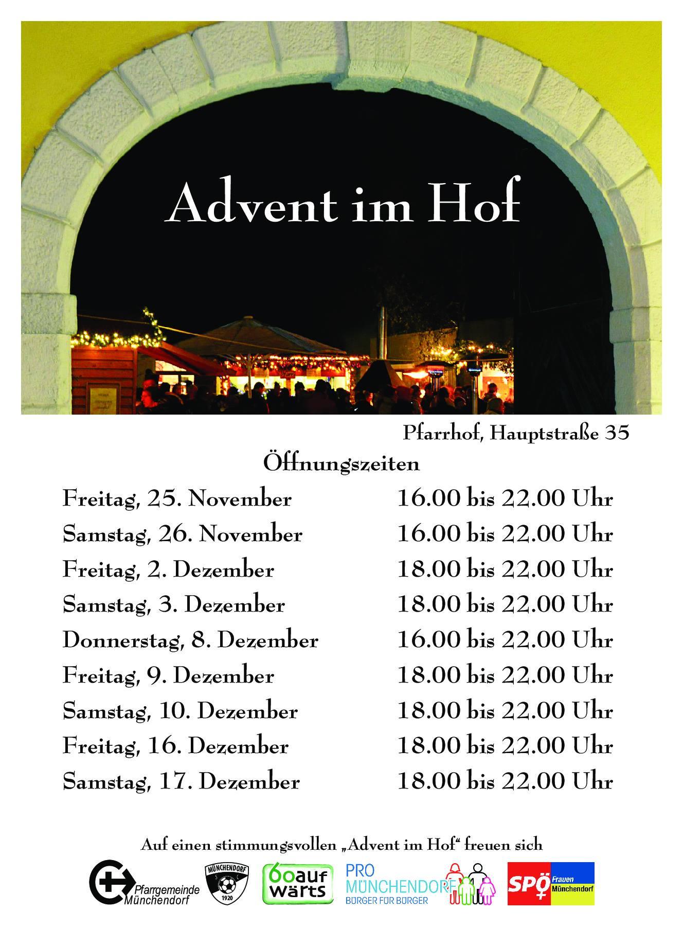 Weihnachtskonzert Münchendorf